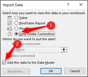 add data to model