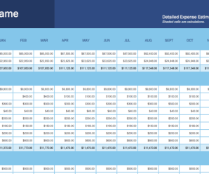 33 Excel Business Templates for Workplace Productivity (2020 Update)