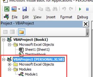 Excel Personal Macro Workbook | Save & Use Macros in All Workbooks