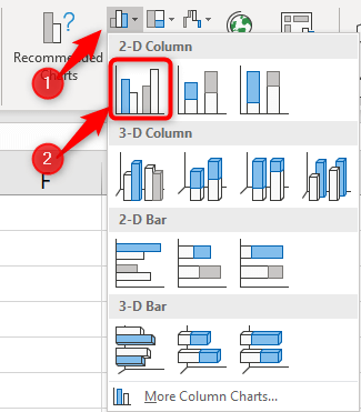 How-to-make-column-chart-Excel