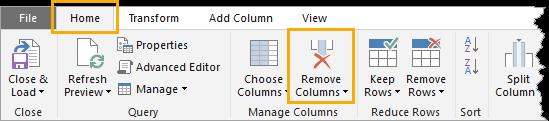 Power-Query-tips-remove-columns