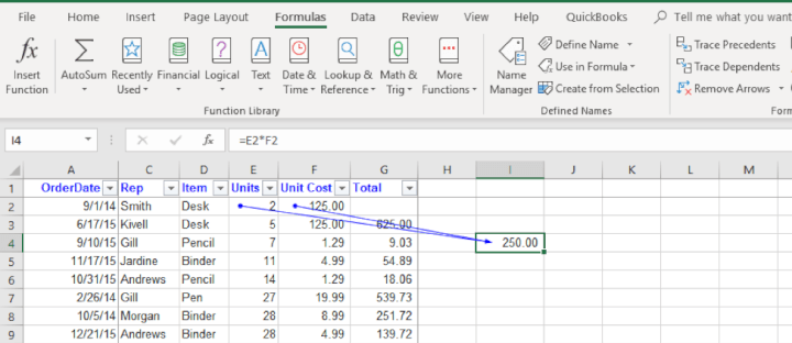excel-tips-for-beginners-trace-precedents