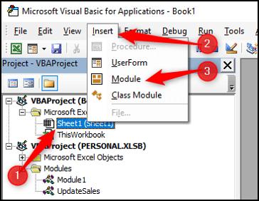 VBA Code Library - Insert Module