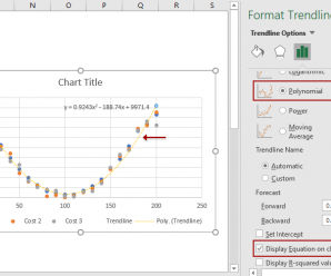 How To Add Best Fit Line/Curve And Formula In Excel?