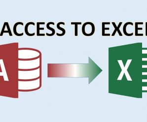MS-Access And Transfer SpreadSheet Command